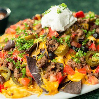 happy hour nachos