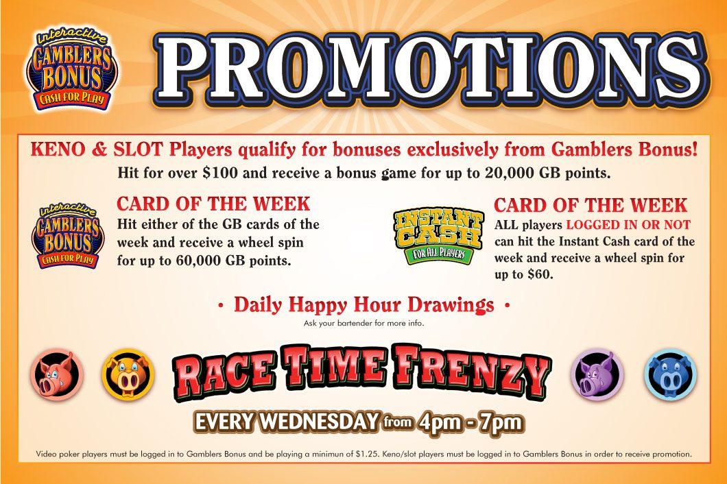 gamblers bonus