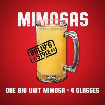 June Promotion Big Unit Mimosas